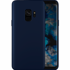 Силиконов гръб UNI - Samsung Galaxy S9  - Dark Blue