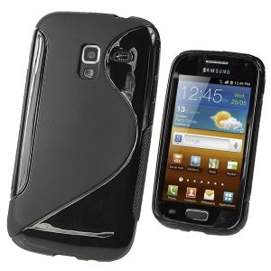 Силикон S Line - Samsung Galaxy Ace 2 I8160 Black