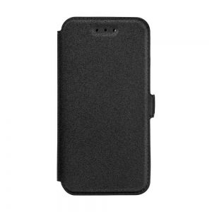 Странична Папка Book Pocket - Huawei Y6 - Black