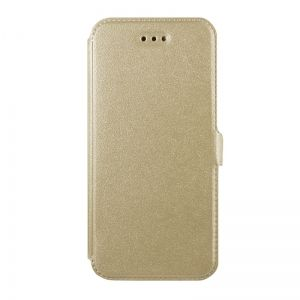 Странична папка Book Pocket - Huawei Y7 (2017) Gold